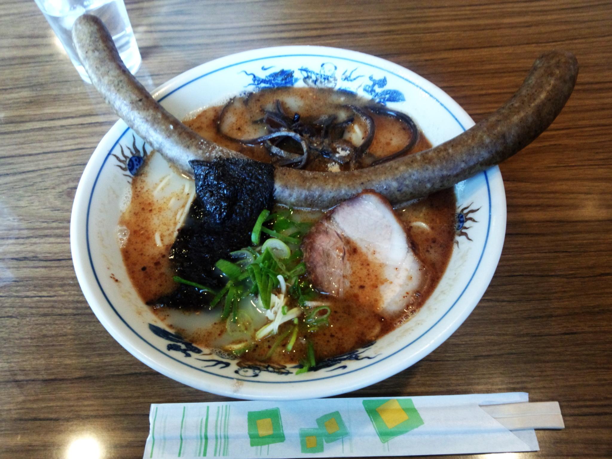 レストランとんぼ ソーセージラーメン