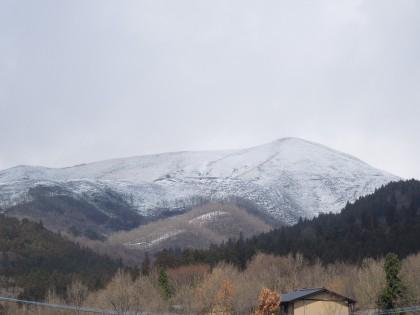 雪の小萩山